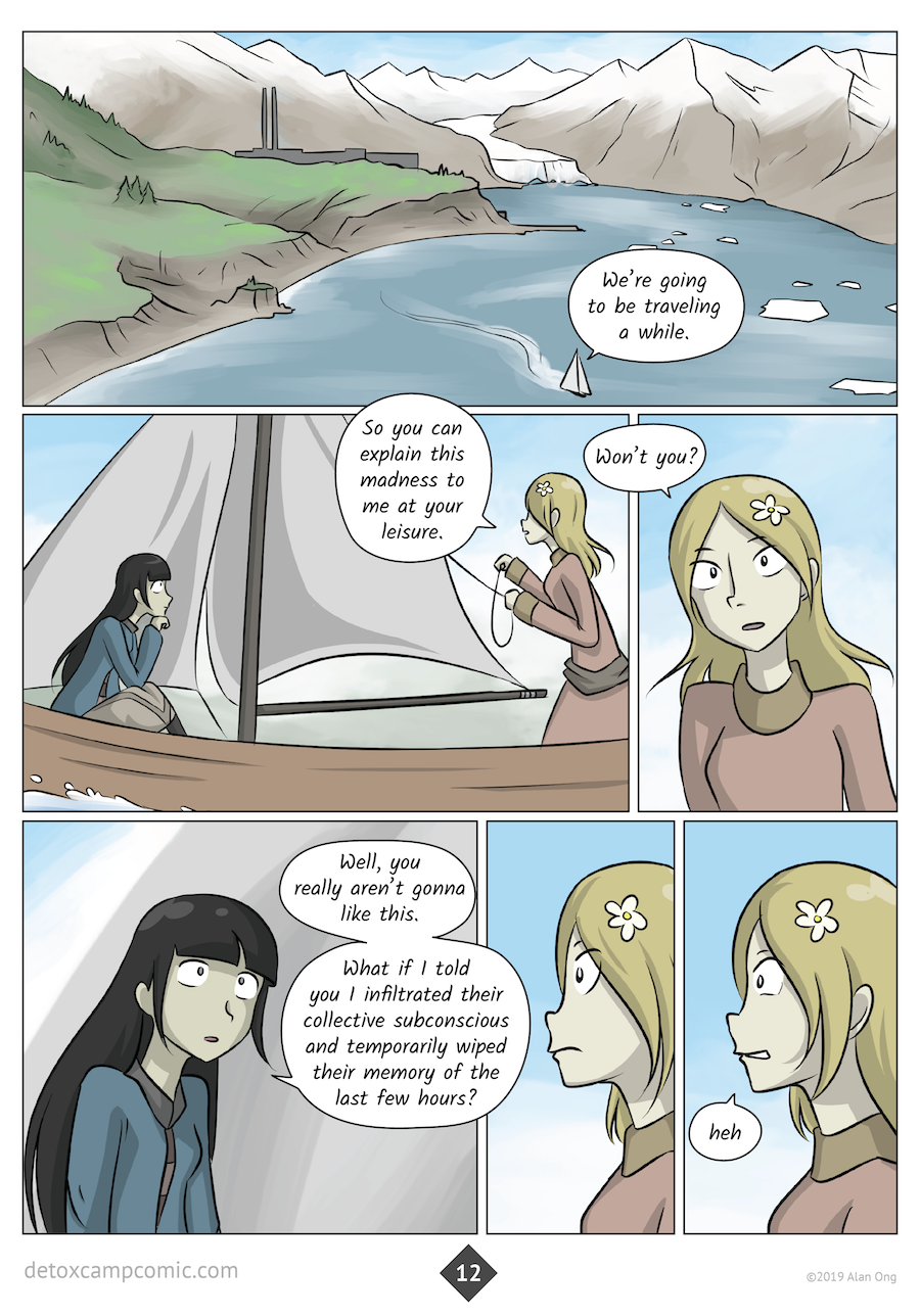 Detox Camp update chapter 5 page 12